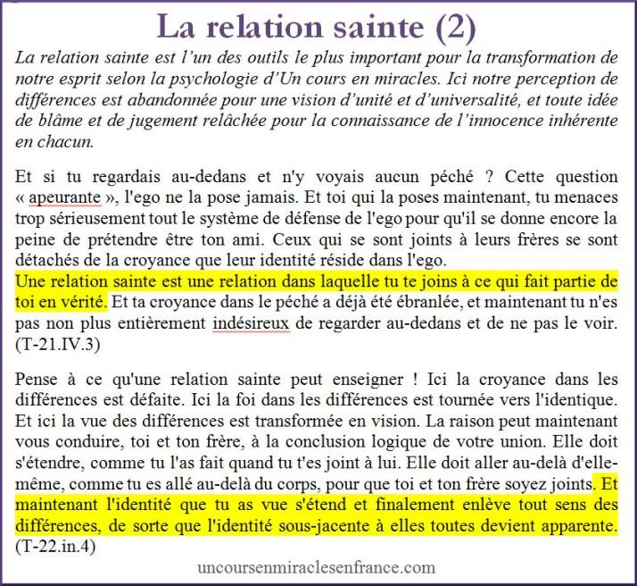 FB texte La relation sainte 2